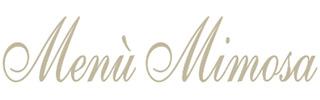 Menù Mimosa - menù di marzo - titolo